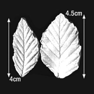 Great Impressions (SK) Leaf Veiners - Elm - set of 2.  4.5cm/4cm.  GM01E001-02