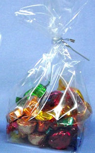 Clear Cellophane Bags - Medium  Pack of 25