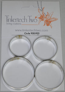 TinkerTech Two Cutters - Circles - set of 4 - 900-903