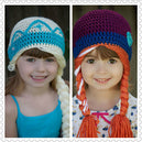 bonnet-animal-fille-qualité-tricot-chaud-princesse