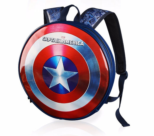 "SAC A DOS 3D ""CAPTAIN AMERICA"" OU ""IRON MAN"""