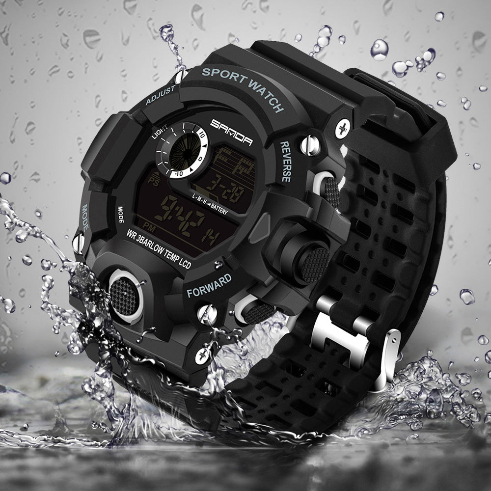 Sanda Tactical Watch (Shockproof and Waterproof)