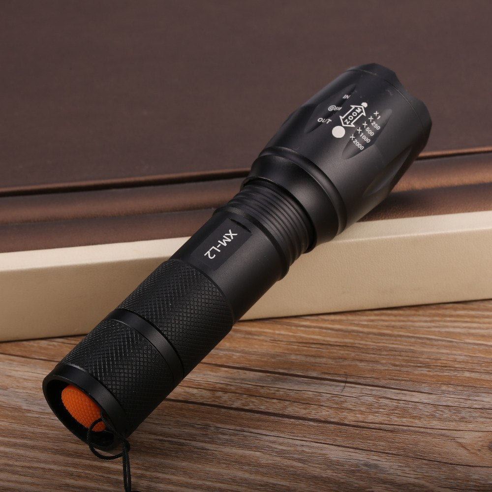 XR1000 Military Grade Tactical Flashlight | Adjustable Focus | 5 Light Modes | Waterproof
