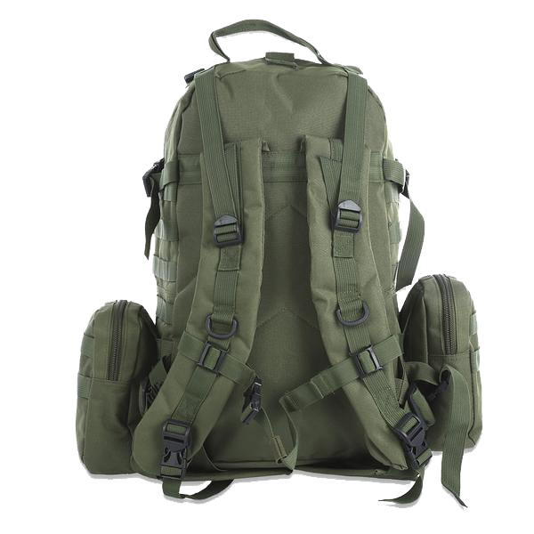 B.O.B Tactical MOLLE Backpack | 50L Capacity