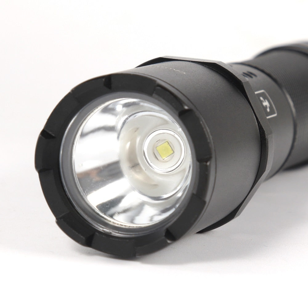 TK700 USB Rechargeable Tactical Flashlight