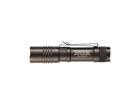 ProTac 1L-AA | 350 Lumens | IPX7 Waterproof | Unbreakable Pocket Clip