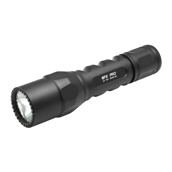Surefire 6PX PRO | Virtually Indestructible Dual-Output LED | 600 Lumens | Front Strike Bezel