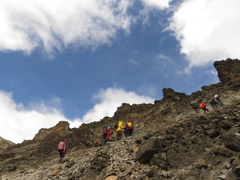 Le défi de l'ascension du Kilimandjaro