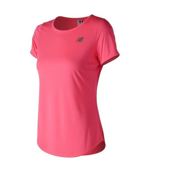 T-shirt à manches courtes femme New Balance Accelerate SS V2 Rose