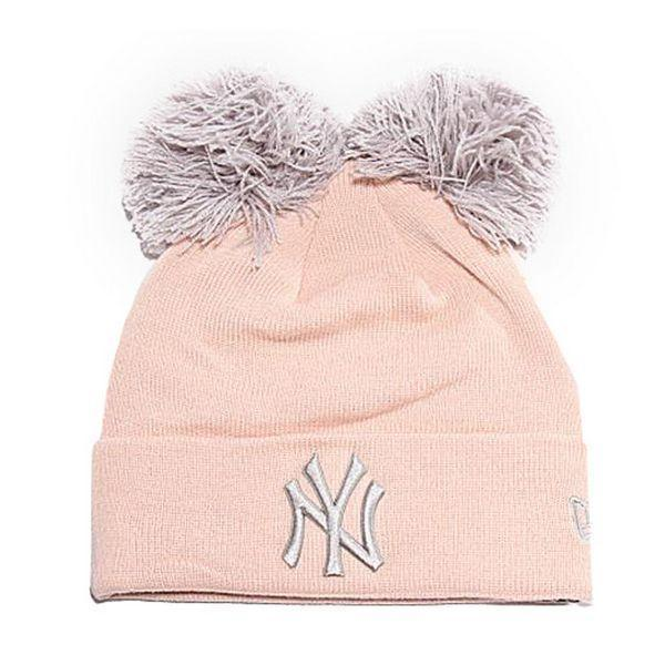 Chapeau Ny Yankees New Era DOUBLE POM CUFF Rose