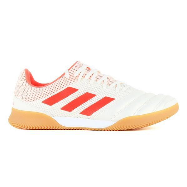 Chaussures de Futsal pour Adultes Adidas Copa 19.3 In Blanc Orange