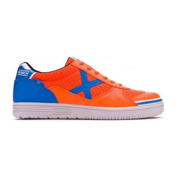 Chaussures de Futsal pour Adultes Munich G3 Orange