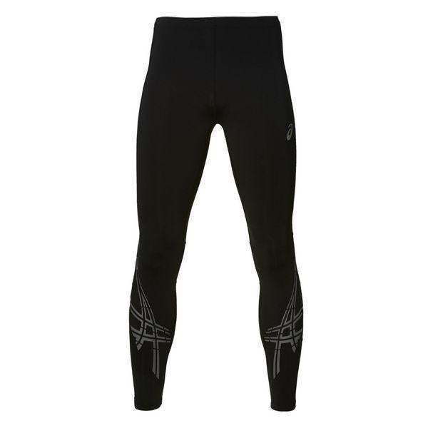 Leggings de sport pour homme Asics Stripe Tight Noir