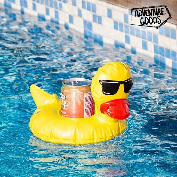 Support Gonflable pour Canettes Canard Adventure Goods