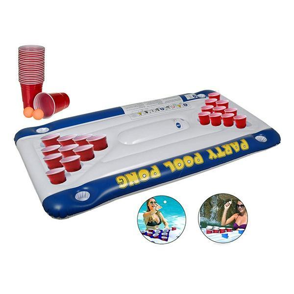 Matelas Gonflable Pool Pong Game