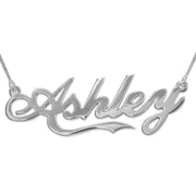 Silver Name Necklace - Coca Cola
