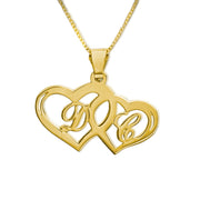 Gold plated Hearts Pendant