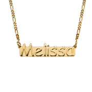 18k Gold Plated Sterling Silver Name Necklace