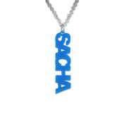 Acrylic Name Necklace - Vertical