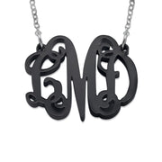 Acrylic Monogram Necklace