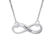 0.925 Silver Infinity Necklace