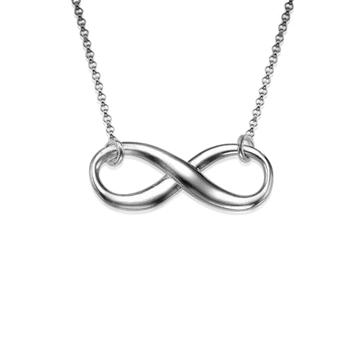 0.925 Silver Eternity Necklace