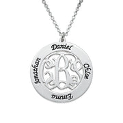 Monogrammed Family Necklace