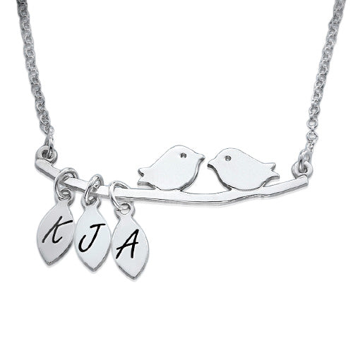 0.925 Silver Bird Necklace