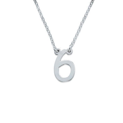 0.925 Silver Number Jewelry