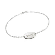 0.925 Silver Name Bracelet - Girls