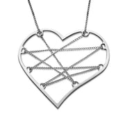 My Only One  Unchain My Heart Sterling Silver Necklace