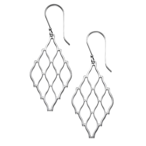 My Only One - Hive Sterling Silver Earrings