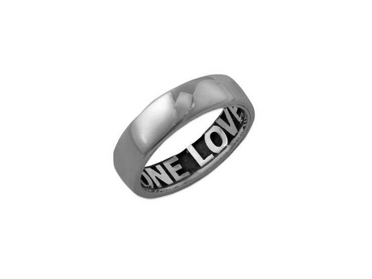 0.925 Silver Ring - Comfort Fit - Internal Engraving