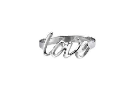 0.925 Silver Personalized Ring
