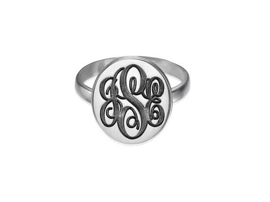 0.925 Silver Signet Ring