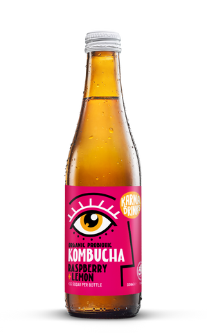 Karma Drinks Kombucha Raspberry Lemon