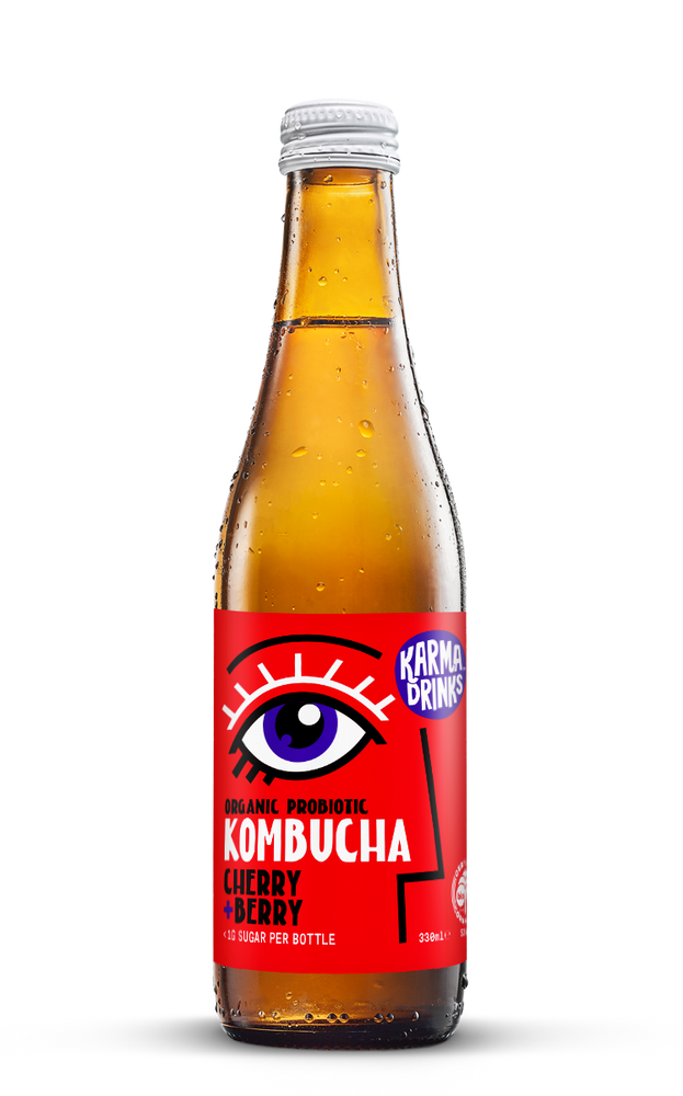 Karma Drinks Kombucha Cherry Berry