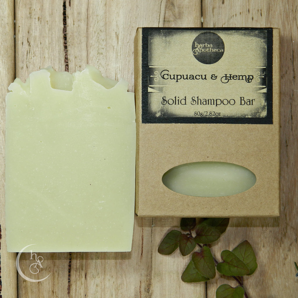 Cupuacu and Hemp Shampoo Bar