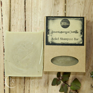Laurel Berry and Nettle Shampoo Bar