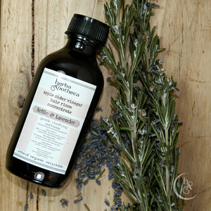 Nettle and Lavender Hair Rinse Concentrate 100-200ml