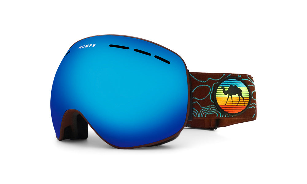 Freeride - Ice Blue Mirror