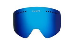 Ice Blue Mirror Lens - Flat