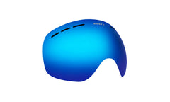 Ice Blue Mirror Lens - Rounded
