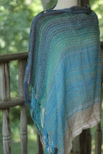 cotton/tencel poncho