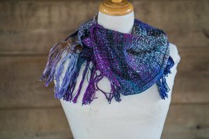 The Amethyst button cowl