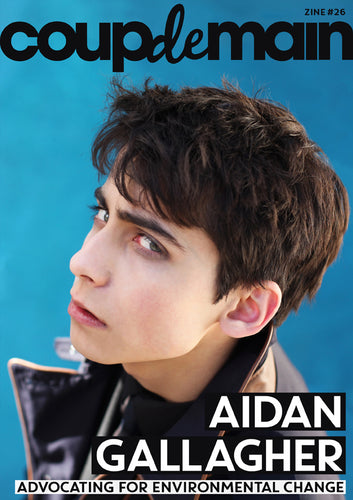 Zine #26 - Aidan Gallagher