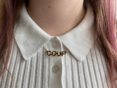 Coup De Main necklace!