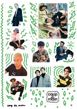 Coup De Main Faves - Sticker Sheet #2