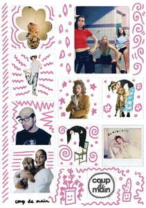 Coup De Main Faves - Sticker Sheet #1