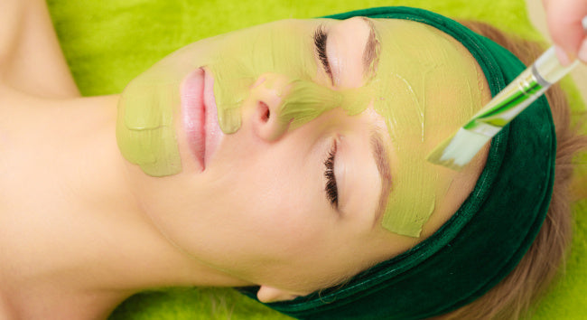 regenerating algae peel off mask
